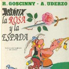 Cómics: ASTERIX LA ROSA Y LA ESPADA, EDITORIAL GRIJALBO, TAPA DURA. Lote 23635621
