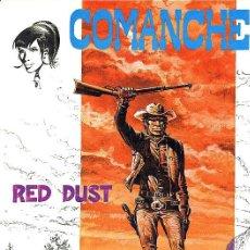 Cómics: COMANCHE 1 - RED DUST - COLECCIÓN JET Nº 4 - BRUGUERA - 1983 - TAPAS DURAS. Lote 22628419