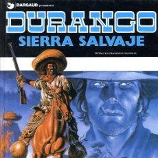 Cómics: DURANGO Nº 5 - SIERRA SALVAJE - GRIJALBO - 1989 - TAPAS DURAS - 48 PÁGINAS COLOR. Lote 22662062