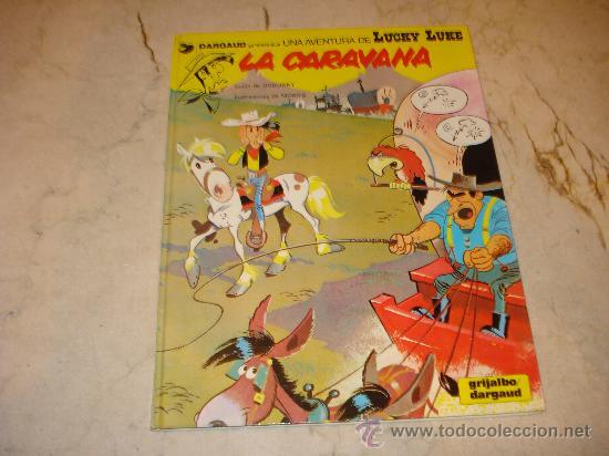 LUCKY LUKE - LA CARAVANA - GRIJALBO 1982 (Tebeos y Comics - Grijalbo - Lucky Luke)
