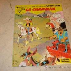 Cómics: LUCKY LUKE - LA CARAVANA - GRIJALBO 1982. Lote 22741517