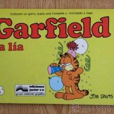 Cómics: GARFIELD LA LÍA. Nº 13.. Lote 26103065
