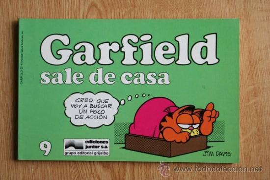 GARFIELD SALE DE CASA. Nº 9. (Tebeos y Comics - Grijalbo - Otros)