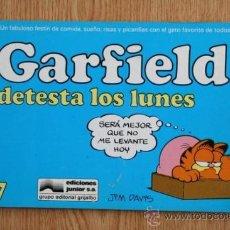 Cómics: GARFIELD DETESTA LOS LUNES. Nº 7.. Lote 26898483