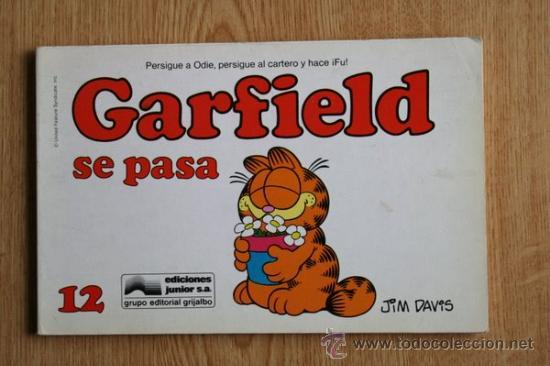 GARFIELD SE PASA. Nº 12. (Tebeos y Comics - Grijalbo - Otros)