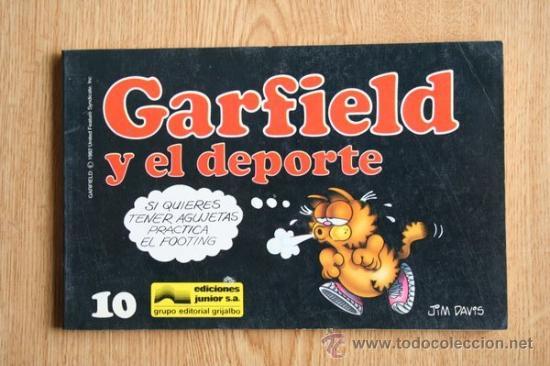 GARFIELD Y EL DEPORTE. Nº 10. (Tebeos y Comics - Grijalbo - Otros)