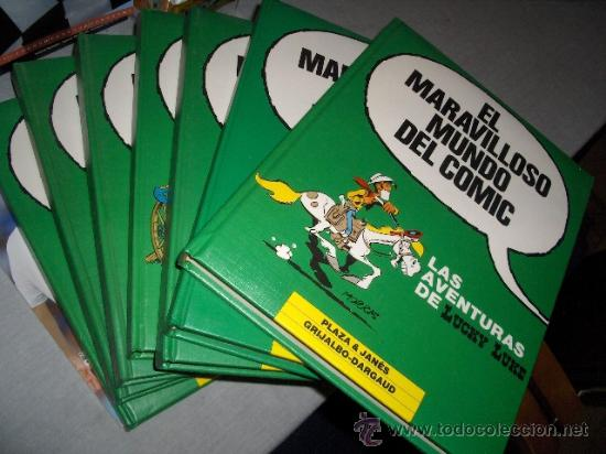 EL MARAVILLOSO MUNDO DEL COMIC 8 TOMOS COMPLETA GRIJALBO AÑOS 80. LUCKY LUKE, SPIROU MBE GRAN PRECIO (Tebeos y Comics - Grijalbo - Otros)
