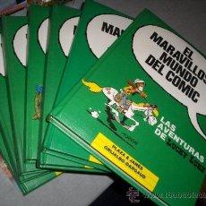 Cómics: EL MARAVILLOSO MUNDO DEL COMIC 8 TOMOS COMPLETA GRIJALBO AÑOS 80. LUCKY LUKE, SPIROU MBE GRAN PRECIO. Lote 23386509