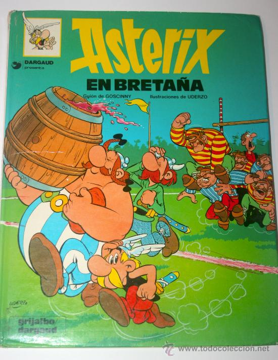 ASTERIX EN BRETAÑA VINTAGE 1980 - GRIJALBO (Tebeos y Comics - Grijalbo - Asterix)