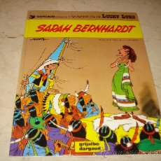 Cómics: LUCKY LUKE - SARAH BERNHARDT - GRIJALBO 1983. Lote 23622553