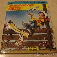 Cómics: LUCKY LUKE - BAJO EL CIELO DEL OESTE - GRIJALBO 1993. Lote 24012483