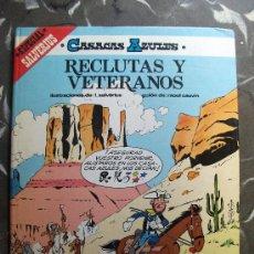 Cómics: CASACAS AZULES RECLUTAS Y VETERANOS ALBUM GRIJALBO TAPA DURA. Lote 27051447