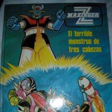 Cómics: ANTIGUO COMIC MAZINGER Z EL TERRIBLE MONSTRUO DE LAS TRES CABEZAS. Lote 24281322