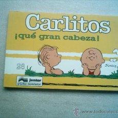 Cómics: CARLITOS Nº 26 QUE GRAN CABEZA / GRIJALBO 1996 SCHULZ. Lote 24395419