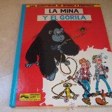Cómics: SPIROU Y FANTASIO - LA MINA Y EL GORILA - JUNIOR 1982. Lote 24513280