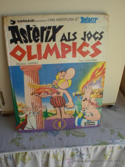 ASTERIX ALS JOCS OLÍMPICS 1980 (Tebeos y Comics - Grijalbo - Asterix)