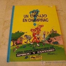 Cómics: SPIROU - HAY UN BRUJO EN CHAMPIÑAC - JUNIOR 1993. Lote 25189300