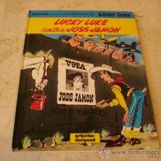 Cómics: LUCKY LUKE CONTRA JOSS JAMON - GRIJALBO 1991. Lote 25189359