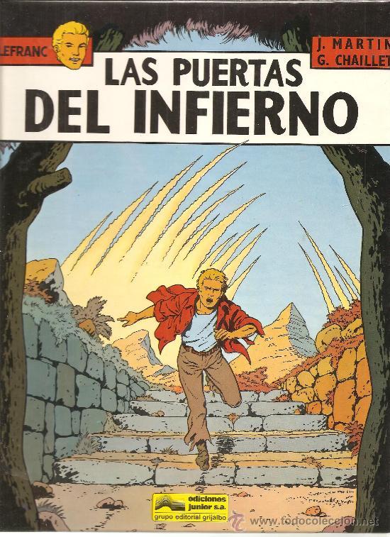 LEFRANC Nº 5 LAS PUERTAS DEL INFIERNO.IMPECABLE (Tebeos y Comics - Grijalbo - Lefranc)