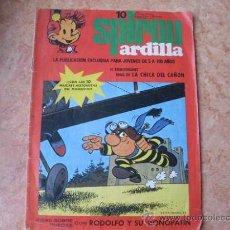 Cómics: SPIROU ARDILLA,Nº 10,EDITORA MUNDIS,AÑO 1979. Lote 25455012