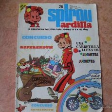 Cómics: SPIROU ARDILLA,Nº 28,EDITORA MUNDIS,AÑO 1979. Lote 25455099