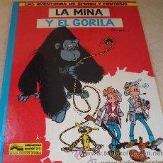 Cómics: LAS AVENTURAS DE SPIROU Y FANTASIO: LA MINA Y EL GORILA. Lote 25806513