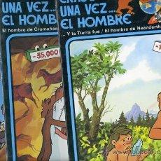 Cómics: ERASE UNA VEZ EL HOMBRE EDICIONES JUNIOR 1979 13 NUMÉROS COMPLETOS CON ESTUCHE. Lote 25877426