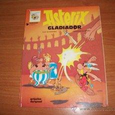 Cómics: ASTERIX Nº 4 ASTERIX GLADIADOR EDICIONES GRIJALBO RUSTICA. Lote 26071497
