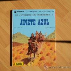 Cómics: 04/2011 LA JUVENTUD DE BLUEBERRY 3 JINETE AZUL. EDITORIAL GRIJALBO/DARGAUD 1981 CHARLIER Y GIRAUD . Lote 26178952