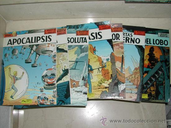 LOTE DE SEIS ALBUMES LEFRANC . 4 AL 10 MENOS EL 7. TODOS O SUELTOS (Tebeos y Comics - Grijalbo - Lefranc)