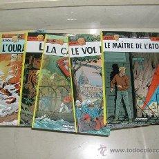 Cómics: LOTE DE 6 ALBUMES LEFRANC VERSION ORIGINAL . LOTE COMPLETO O SUELTOS. Lote 26277512
