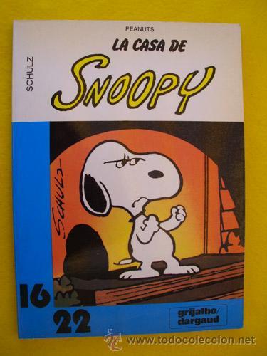 LA CASA DE SNOOPY. SCHULZ CHARLES M. GRIJALBO - DARGAUD 16X22. Nº13 (Tebeos y Comics - Grijalbo - Otros)