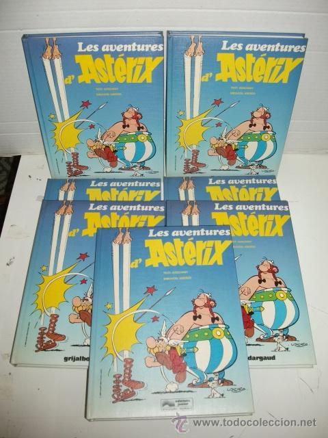 ASTÉRIX EN CATALÀ – 7 VOLÚMS DEL 1 AL 7 – 28 TÌTOLS (Tebeos y Comics - Grijalbo - Asterix)