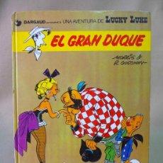 Cómics: TEBEO, COMIC, LUCKY LUKE, EL GRAN DUQUE, EDITORIAL GRIJALBO, 1977. Lote 27049591