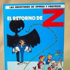 Cómics: TEBEO, COMIC, EL RETORNO DE Z, LAS AVENTURAS DE ESPIROU Y FANTASIO, EDITORIAL GRIJALBO, 1987. Lote 27049659