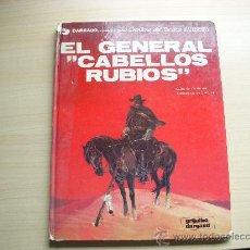 """Cómics: TENIENTE BLUEBERRY Nº 6,""""EL GENERAL CABELLOS RUBIOS"""", TAPA DURA, EDITORIAL GRIJALBO. Lote 27074589"""
