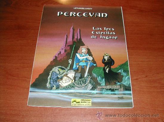 (JC) PERCEVAN, Nº 1, LAS TRES ESTRELLAS DE INGAAR. TAPA EN RUSTICA (BLANDA) . ED. JUNIOR. GRIJALBO (Tebeos y Comics - Grijalbo - Percevan)