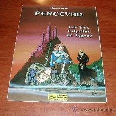 Cómics: (JC) PERCEVAN, Nº 1, LAS TRES ESTRELLAS DE INGAAR. TAPA EN RUSTICA (BLANDA) . ED. JUNIOR. GRIJALBO. Lote 27298998