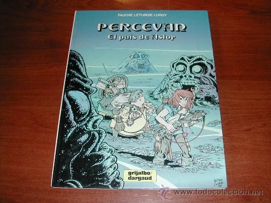 (JC) PERCEVAN, Nº 4, EL PAIS DE ASLOR. TAPA DURA . ED. JUNIOR. GRIJALBO (Tebeos y Comics - Grijalbo - Percevan)