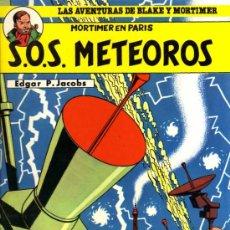 Cómics: BLAKE Y MORTIMER - SOS METEOROS - E.P. JACOBS - JUNIOR/GRIJALBO. Lote 27532077