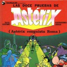 Cómics: ASTÉRIX - LAS DOCE PRUEBAS DE ASTÉRIX - GRIJALBO 1997 - TAPAS DURAS - 60 PÁGINAS COLOR. Lote 27581623