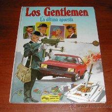 Cómics: LOS GENTLEMEN Nº 2: LA ULTIMA APUESTA (CASTELLI & TACCONI) (ED. JUNIOR-GRIJALBO)1980 TAPA DURA (JC) . Lote 27791296