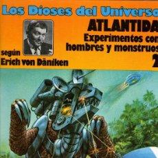 Cómics: LOS DIOSES DEL UNIVERSO - Nº 2 - ATLANTIDA - VON DÄNIKEN - TAPA DURA - ED. JUNIOR 1979 - COMO NUEVO. Lote 27806252