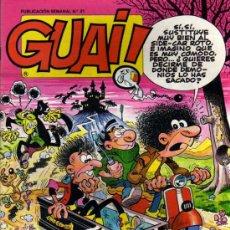 Cómics: GUAI ! - Nº 41 - EDICIONES JUNIOR / GRIJALBO. Lote 28176554