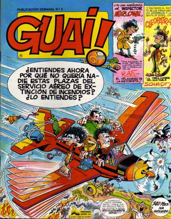 GUAI ! - Nº 3 - EDICIONES JUNIOR / GRIJALBO (Tebeos y Comics - Grijalbo - Otros)