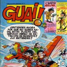 Cómics: GUAI ! - Nº 3 - EDICIONES JUNIOR / GRIJALBO. Lote 28176569