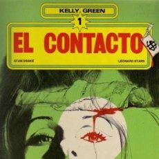 Fumetti: EL CONTACTO - KELLY GREEN 1 - STAN DRAKE / LEONARD STARR - GRIJALBO / DARGAUD. Lote 28200381