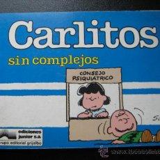 Cómics: CARLITOS. SIN COMPLEJOS. Nº 11.SCHULZ EDICIONES JUNIOR. 1989. Lote 28201956