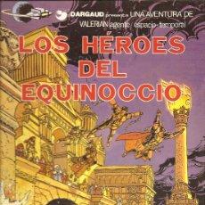 Cómics: LAS AVENTURAS DE VALERIAN Nº 7 LOS HEROES DEL EQUINOCIO. Lote 28264728