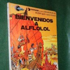 Cómics: VALERIAN N.3 BIENVENIDOS A ALFLOLOL - ED.GRIJALBO 1978 - TAPA DURA. Lote 28313677